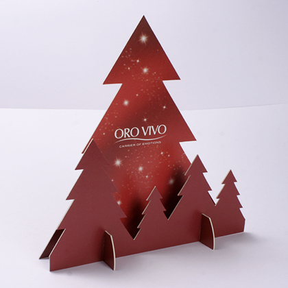PLV sapin noel, packaging design pour bijoux, emballage promotionnel, creation coffret, réalisation sur mesure, fabrication etui, création packaging, réalisation, production
